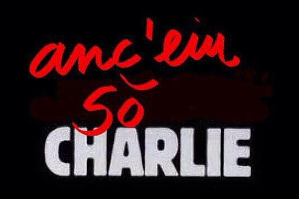 """ILLUSTRATION - """"Moi aussi je suis Charlie"""""""