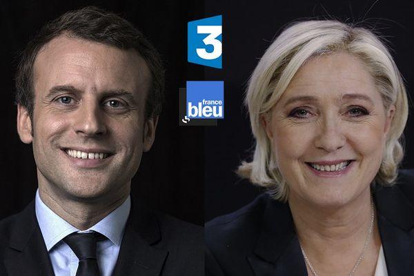 Emmanuel Marcon - Marine Le Pen