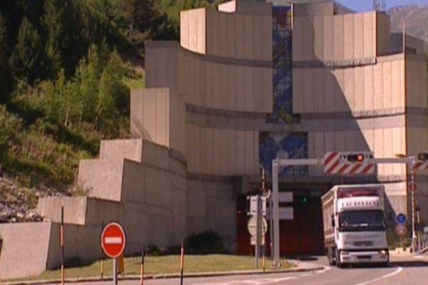 L'entrée du tunnel de Porté-Puymaurens