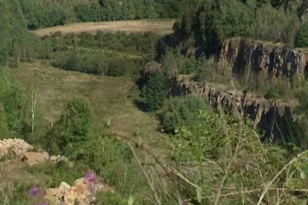 L'ancienne mine de Bellezane sert déjà de lieu de stockage de boues radioactives