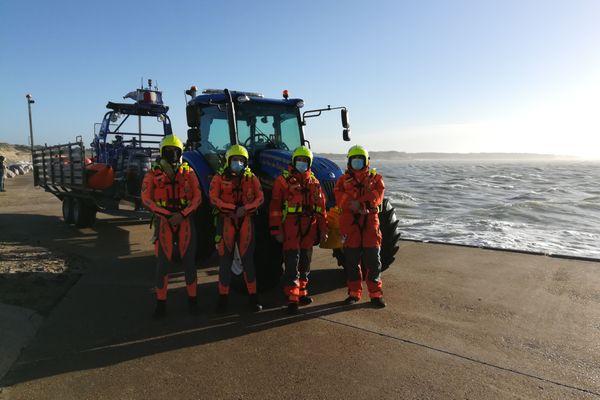Sauveteurs bénévoles de la station SNSM de Berck-sur-Mer