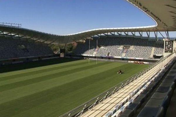 L'Altrad Stadium de Montpellier est habituellement dévolu aux rugbymen du MHR