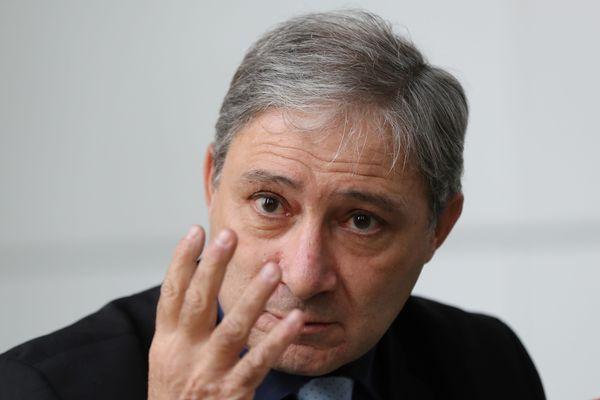 Jean-Michel Prêtre, lors d'une conférence de presse en janvier 2017. (archives)