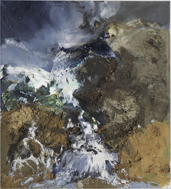 Paysage 1978 - Paul Rebeyrolle