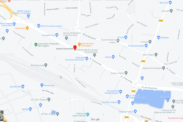 Avenue de Fontcouverte à Avignon