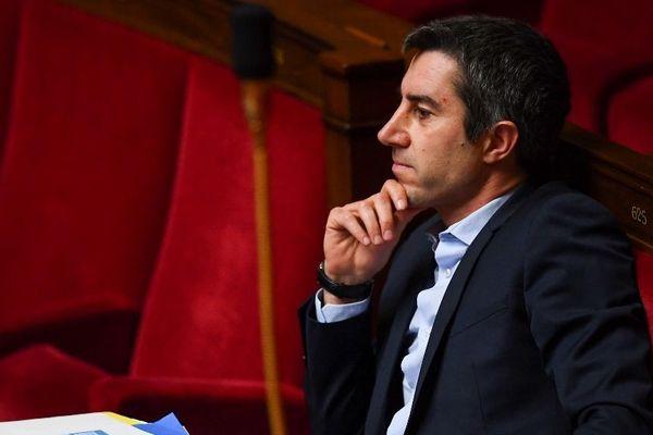 François Ruffin, député LFI de la Somme, à l'Assemblée nationale.