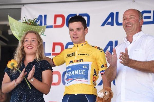 Le Français Alain Riou est toujours en jaune après la 6e étape (Le Blanc-Cérilly)