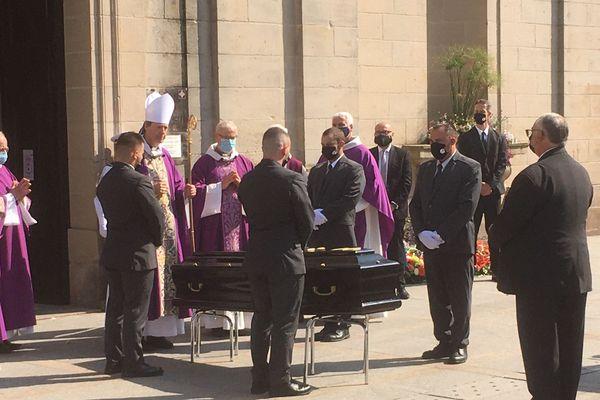 Les obsèques de Christian Poncelet, ce vendredi 18 septembre 2020