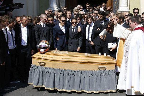 Le monde de la F1 était présent aux obsèques de Jules Bianchi