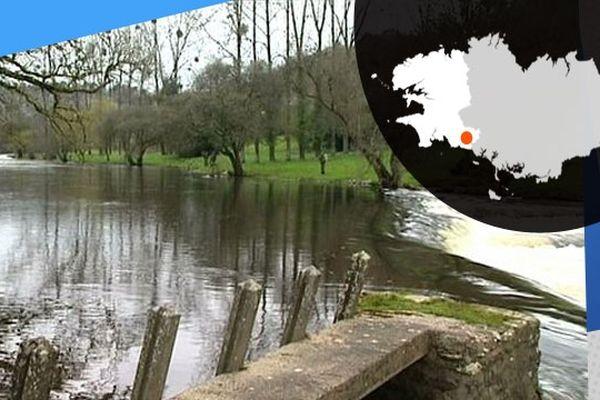 La rivière l'Ellé, terrain de jeu pour les pêcheurs