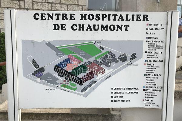 L'hôpital de Chaumont ne dispose pas d'une piste d'atterrissage pour les hélicoptères en cas d'urgence.