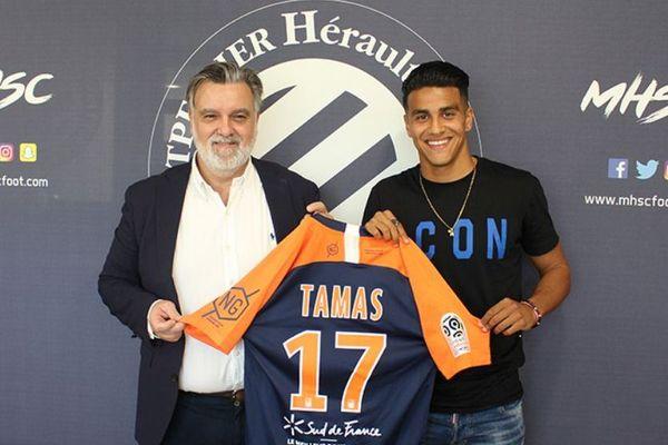 Thibault Tamas passe pro - septembre 2019.