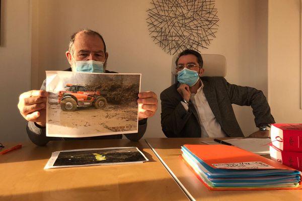 """Gérard Michel, ancien employé du Pays voironnais, porte plainte pour """"blessures involontaires""""."""