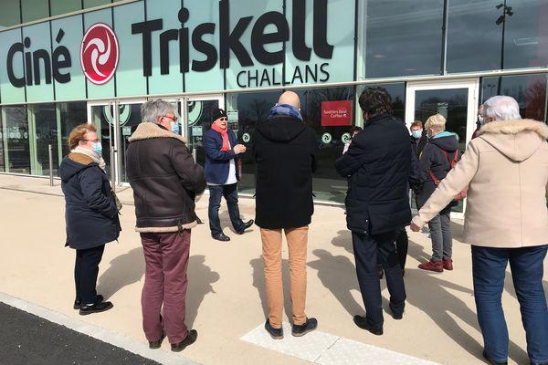 #OuvrezLesCinemas. Rencontre avec les spectateurs au CinéTriskell à Challans, le 12 mars 2020