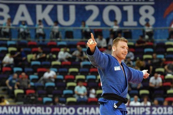 Axel Clerget, originaire de Saint-Dizier, remporte la médaille de bronze aux championnats du monde de judo