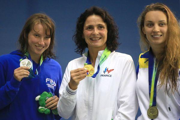Claire Supiot remporte la médaille d'or sur 50 m nage libre aux Championnats d'Europe de natation handisport