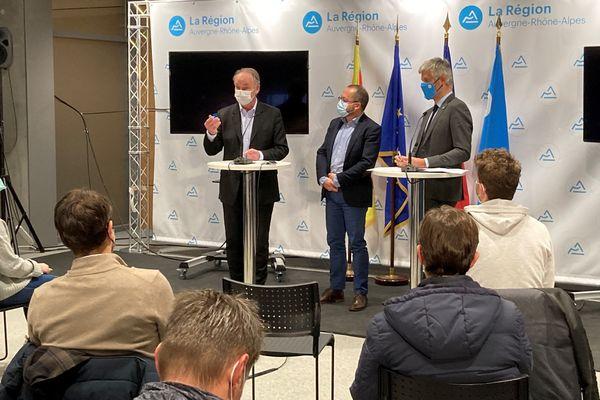 Présentation du comité scientifique pour la campagne de tests massive en Auvergne-Rhône-Alpes