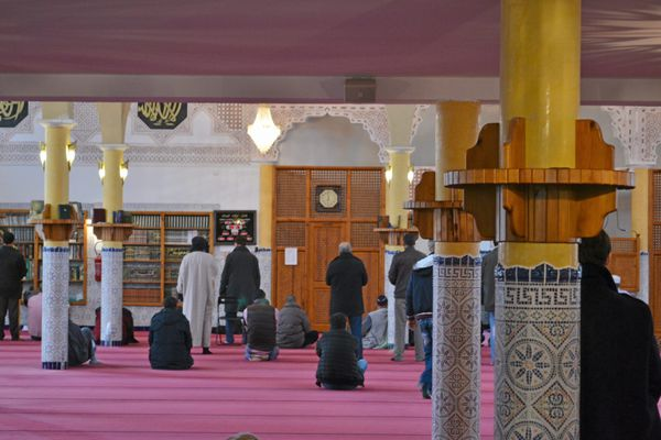 La mosquée de Lunel.