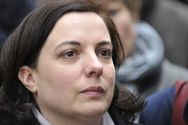Emmanuelle Cosse à Rennes, le 2 mars 2016