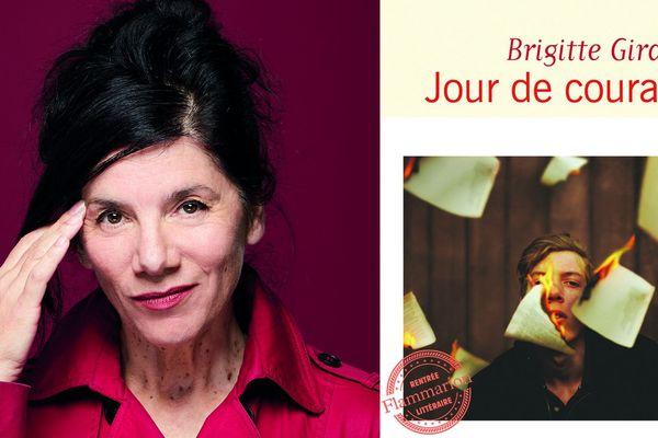 Jour de courage de Brigitte Giraud aux éditions Flammarion