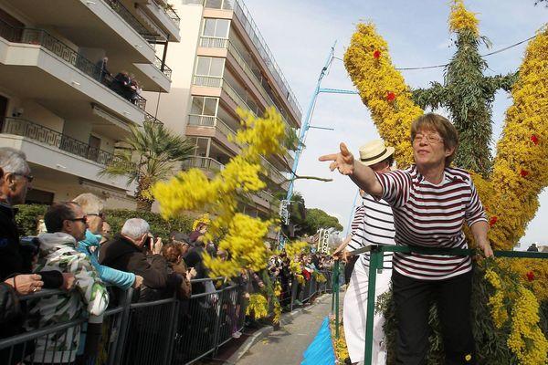 La Fête du Mimosa, du 20 au 28 Février - Photo d'archives.