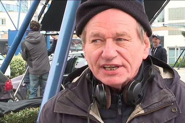 """Philippe Lioret en tournage à Brest pour """"Paris-Brest"""""""