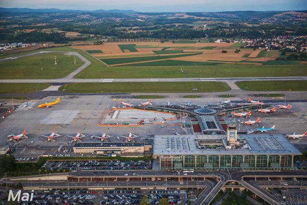 L'EuroAirport Basel Mulhouse Freiburg.