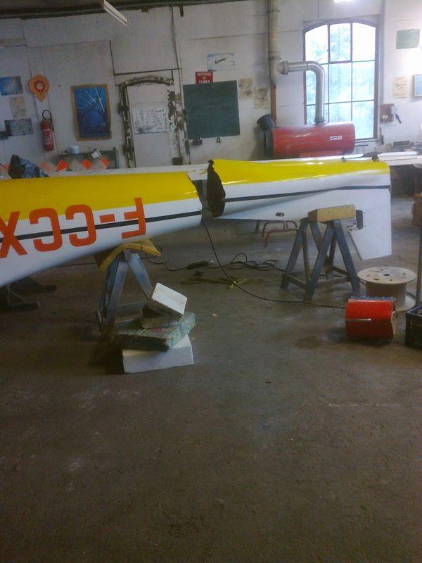 Le N° 07 immatriculé F-CCXX, sorti d'usine en 1966, a volé entre 1967 et 1986 à Colmar. Le fuselage est cassé au niveau des cadres 7 et 8.
