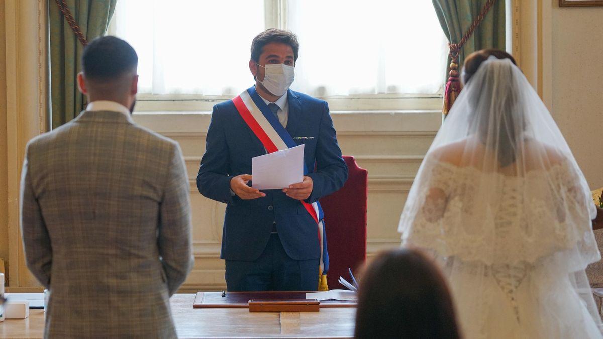 Coronavirus Un Premier Mariage A Reims Depuis Le Confinement 101 Reports Depuis Mi Mars