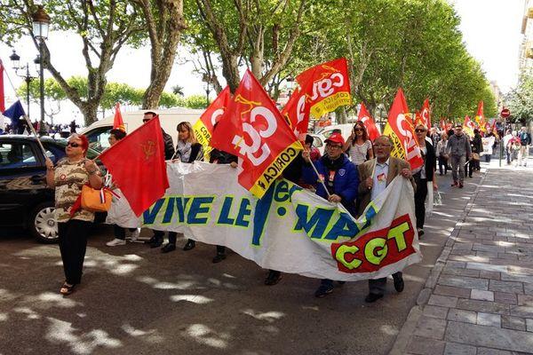 Le défilé du 1er mai 2016 à Bastia
