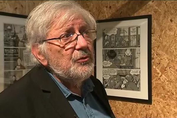 Le dessinateur Jacques Tardi est à l'honneur à Falaise jusqu'au mois de décembre avec quatre expositions