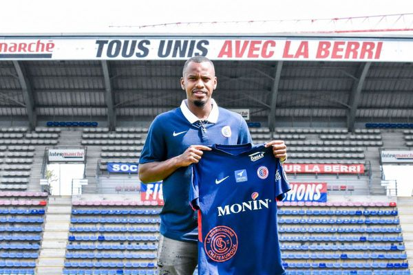 Kévin Fortuné s'est engagé pour deux ans avec Châteauroux.