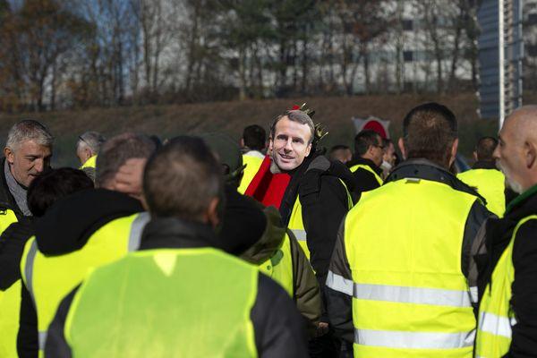 """Une manifestation des """"gilets jaunes"""" - Photo d'illustration"""