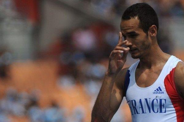 Mehdi Baala lors des Championnats du Monde 2011