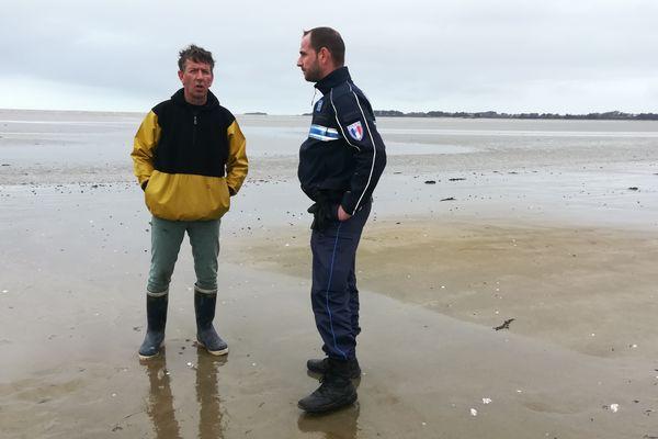 Quelques boulettes de pétrole ont été retrouvées le long du littoral de la Loire-Atlantique.