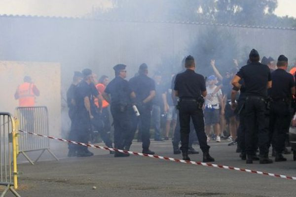 Incidents en marge du match Bastia/OM le 9 août 2014