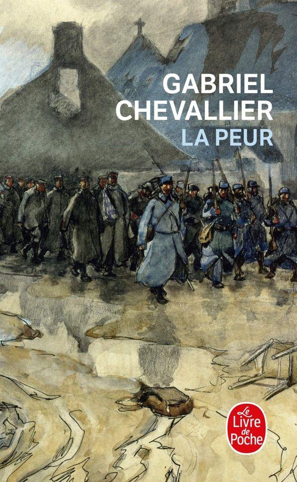 La Peur, de Gabriel Chevallier, en Livre de Poche