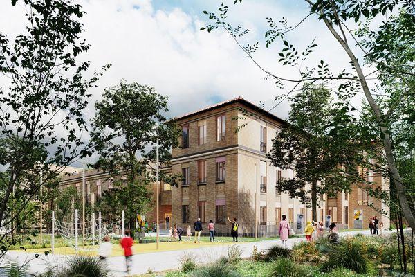 Zac Saint-Vincent- de-Paul, les futurs appartements au prix de 5000 euros le mètre carré.