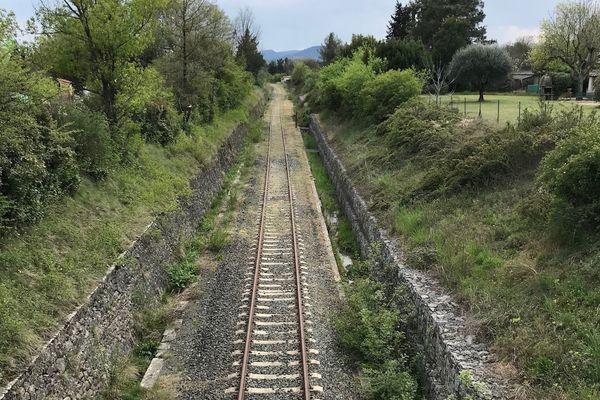 Ligne ferroviaire Alès-Bessèges - archives.
