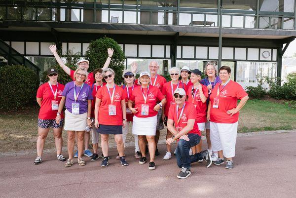 Christine Lebon l'organisatrice des épreuves de golf des Gay Games à la Boulie avec son association Golf Friendly