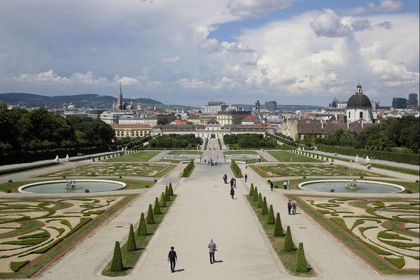 Le centre historique de Vienne en Autriche.