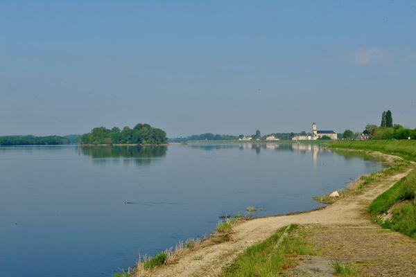 Le fleuve Loire à Saint-Mathurin-sur Loire