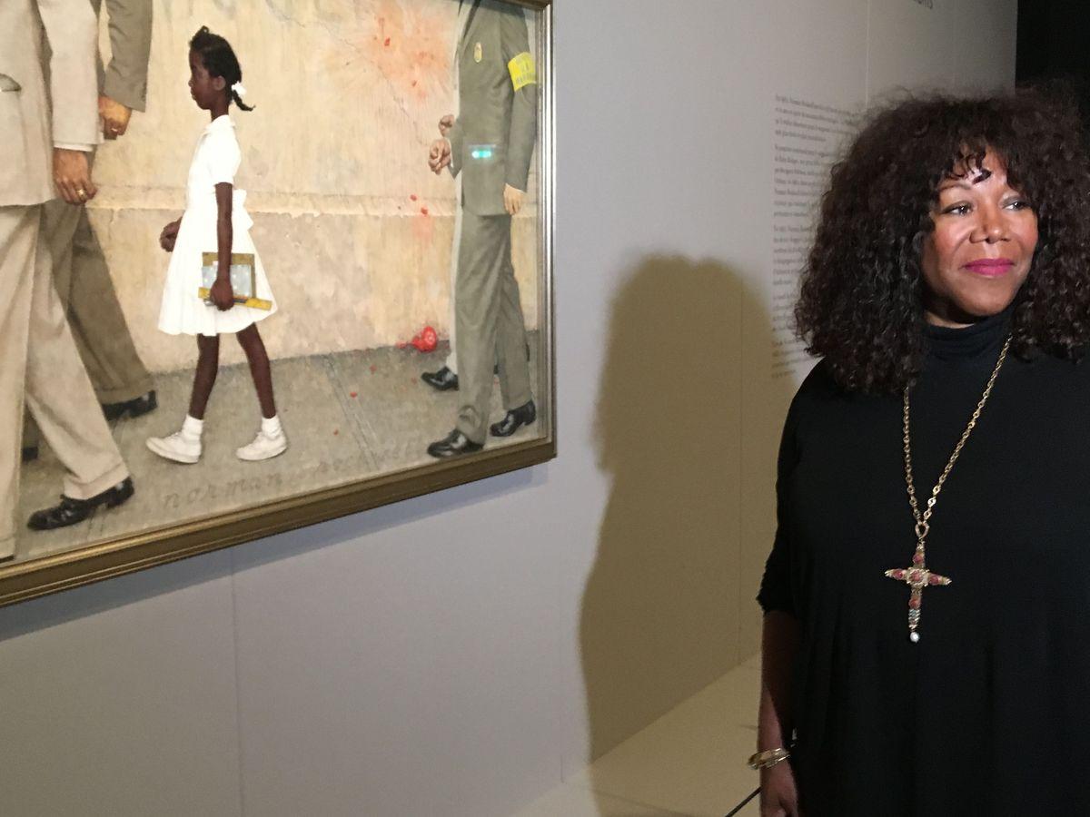 Elle Est La Petite Fille Du Tableau De Norman Rockwell L Emouvant Temoignage De Ruby Bridges Contre Le Racisme