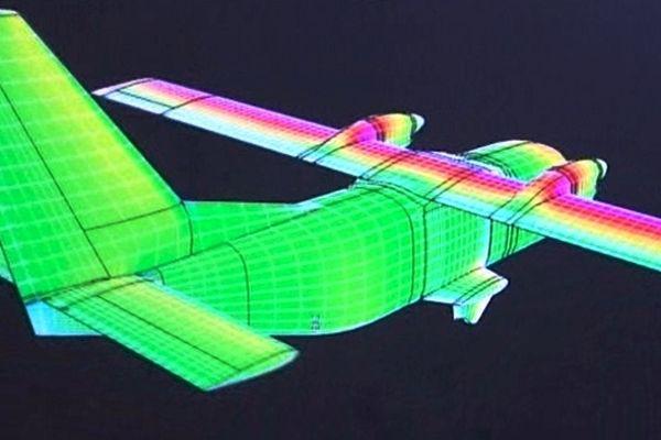 Modélisation 3D de l'avion skylander.