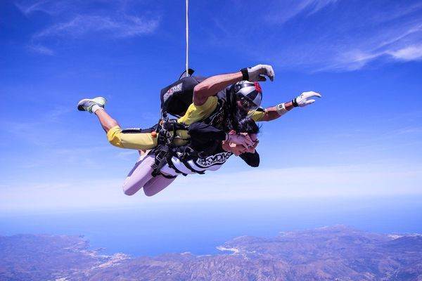 Saut en tandem parachutisme