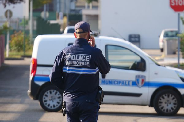 Le quartier de l'école maternelle Alexandre Dumas à Volgelsheim a été entièrement bouclé ce mardi matin après la découverte d'une lettre de menace dans une salle de classe - 21 septembre 2021