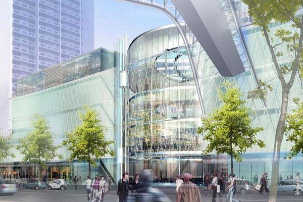 Le Centre Commercial Beaugrenelle dans le 15e arrondissement.