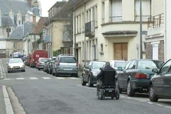 l'accessibilité des personnes handicapées à Beauvais