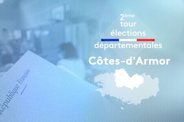 2ème tour des élections départementales 2021 dans les Côtes d'Armor