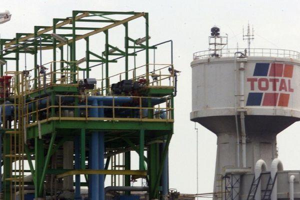 La raffinerie Total de La Mède.